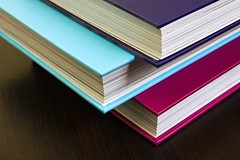 Thick encyclopedias with colorful hardco by Horia Varlan, on Flickr