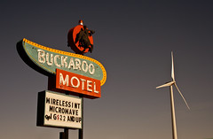 Buckaroo Motel - Route 66 (TooMuchFire) Tags: signs newmexico cowboys typography route66 windmills americanwest tucumcari lightroom oldsigns motherroad vintagesigns vintageneonsigns vintagesignage canon30d buckaroomotel oldneonsigns route66signs route66newmexico toomuchfire route66neonsigns newmexicosigns 1315wroute66blvdtucumcarinm 1315wtucumcariblvdtucumcarinm
