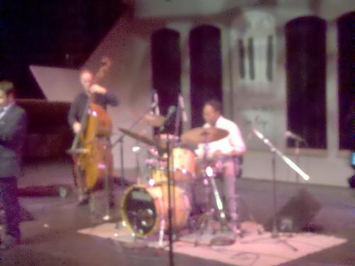 Louis Hayes Quartet Soundcheck at Jazz Live San Diego - Show LIVE 8-10 PM PT http://Jazz88.org 88.3 FM San Diego
