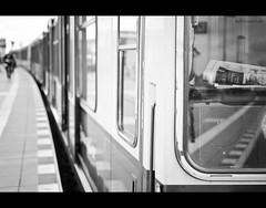 newspaper [explored] (Tafelzwerk) Tags: blackandwhite bw white black detail berlin monochrome train 35mm paper newspaper blackwhite nikon fotografie dof bokeh streetphotography depthoffield sw monochrom nikkor f18 sbahn schwarz zeitung ostkreuz schrfentiefe weis nikon35mm schwarzweis strase nikkor35mm offenblende schwarzundweis strasenfotografie d7000 nikond7000 tafelzwerk tafelzwerkde