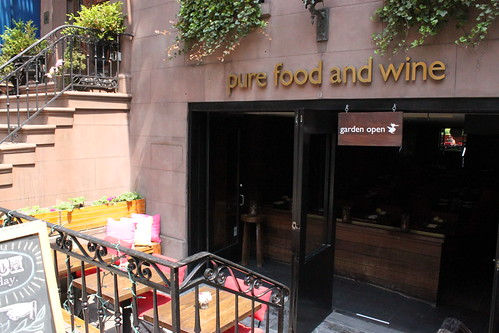 Pure Food and Wine Front