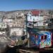 La splendida Valparaiso dall'Ascensor Artilleria