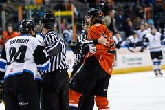 "Missouri Mavericks vs. Wichita Thunder, February 7, 2017, Silverstein Eye Centers Arena, Independence, Missouri.  Photo: John Howe / Howe Creative Photography • <a style=""font-size:0.8em;"" href=""http://www.flickr.com/photos/134016632@N02/32422665130/"" target=""_blank"">View on Flickr</a>"