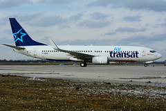 F-GZHC (Air Transat) (Steelhead 2010) Tags: airtransat boeing b737 b737800 yyz freg fgzhc