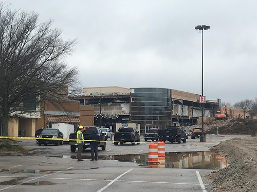 Madison Sq Mall Demolition