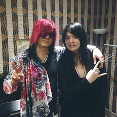 Lightning and Kai (Esprit D'Air) (espritkai) Tags: espritdair esprit dair rock metal music japanese jrock