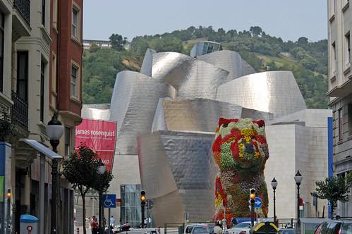 """ES Bilbao - Guggenheim Museum Bilbao - Jeff Koons """"Puppy"""""""