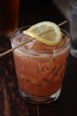 Fig Sour (rosidae) Tags: food santabarbara dinner restaurants cocktail appetizers figs progressivedinner donivan hungrycat figsour dopplr:eat=auu0