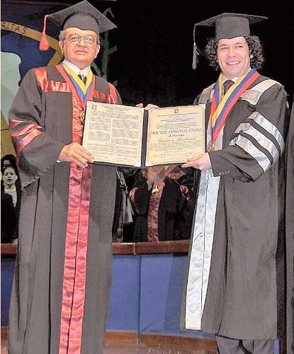 Honoris Causa para Gustavo Dudamel