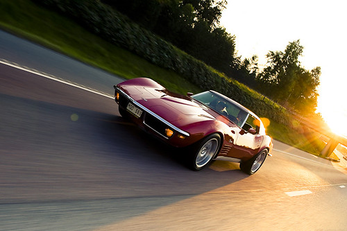 american muscle cars on the road | stefan tell, sweden