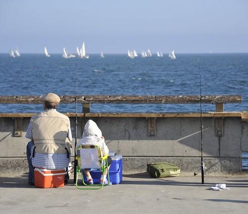 Fishing Venice Pier