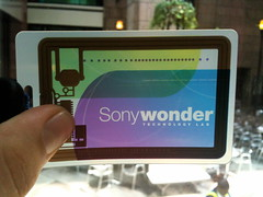 Sony Wonder Technology Lab thingy