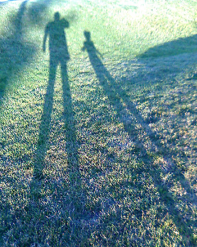 super tall shadow people