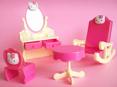 Kawaii Hello Kitty Miniature Toy Furniture Pink Cute Sanrio Japan (Kawaii Japan) Tags: pink girls cute japan table asian toy japanese mirror miniatures bottle chair perfume little furniture hellokitty character small vanity kitty mini sanrio collection plastic tiny kawaii rockingchair decor rare collectibles dollhouse perfumebottle candytoy mirrorstand