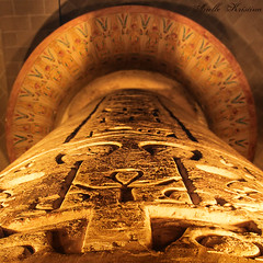 Egyptian Column | University of Pennsylvania (*Arielle*) Tags: stone museum etching pillar egypt carving egyptian ankh heiroglyphics hieroglyph