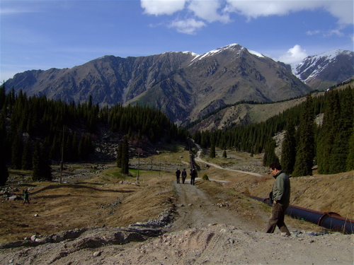 kazak mountain trail