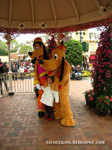 goofy and pluto and kid