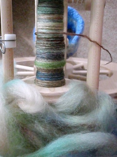 Spunky Eclectic Riverwalk BFL in progress