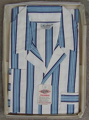 """1950's Mens """"Marlowe"""" PJ's (CollectoratorOne) Tags: vintage 1950s pjs mens marlowe pajamas newoldstock sanforized nitewear originaltags"""