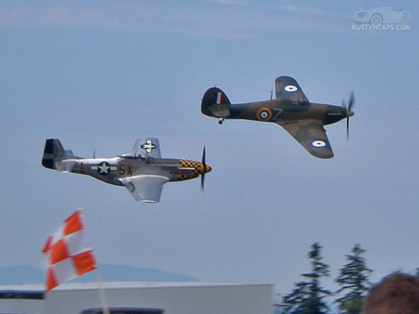 P51 and Hurricane