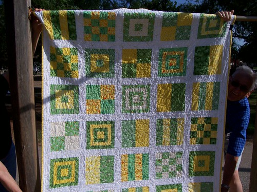 Front of the quilt