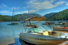 california usa lake mountains sonora clouds canon boat sailing yacht sierra boating sail recreation hdr pinecrest johnmorgan
