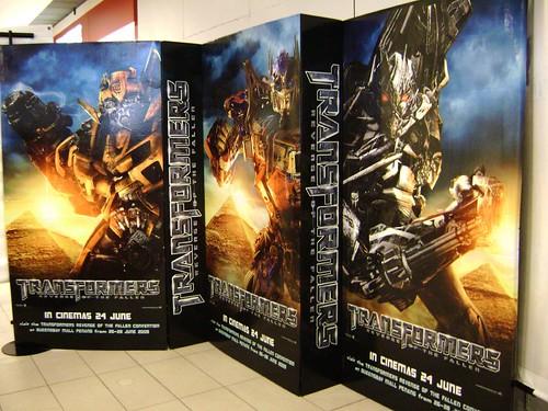 Tranformers 3D banner