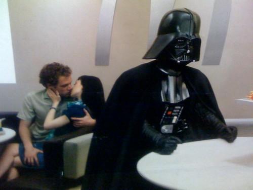 Darth Vader and dry humping