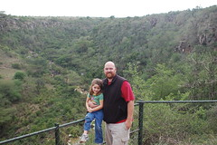 Me with Meredith overlooking the gorge