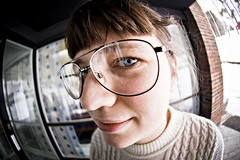 Fisheye III (Alex Worren) Tags: portrait d50 nikon fisheye 105mm