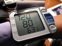 血壓 120/80