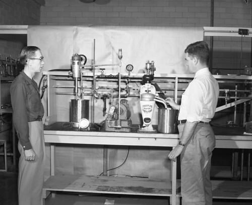 Experimental De gumming Apparatus