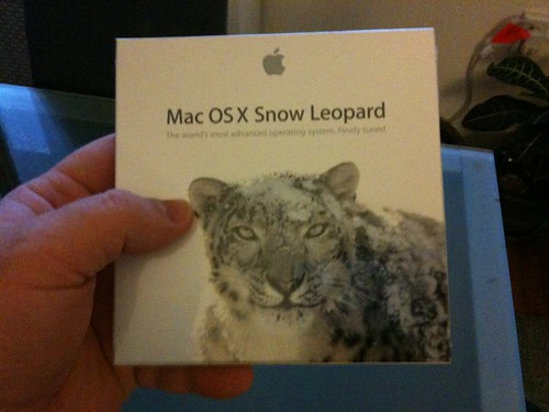 Wife just arrived with Snow Leopard