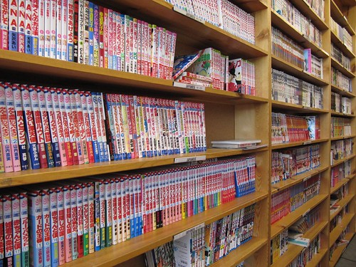 japanese comic books
