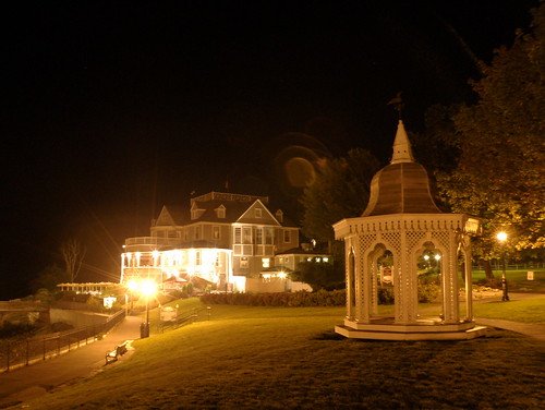 Bar Harbor After Dark ~ Bar Harbor Inn