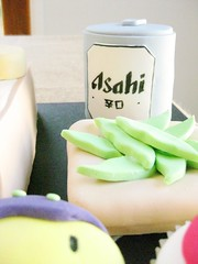 asahi beer can cake (hello naomi) Tags: birthday food cute beer cake japanese cupcakes can kawaii edamame kushiage ashai enedame