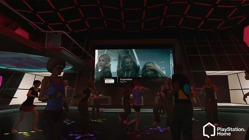 PlayStation Home SingStar Rooms