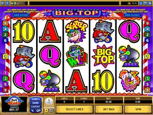 Big Top slot game online review