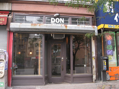 Closed: Don the Verb at 61 Delancey
