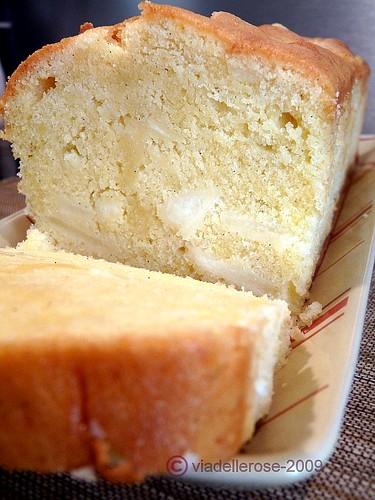 Cake alle pere e alla vaniglia
