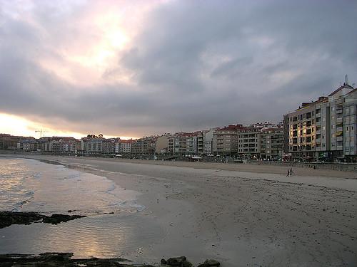 Playa de Silgar, Sangenjo, Pontevedra