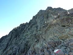 Bocca Minuta : le sommet de la Punta Minuta 340 m plus haut