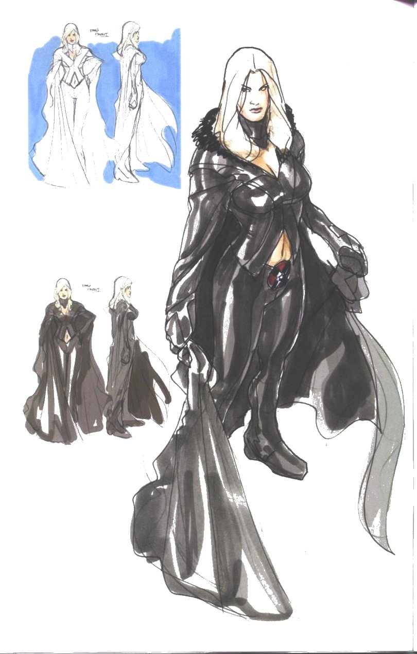 Black White Queen (Terry Dodson, sketchbook 2009)