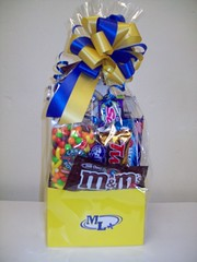 Marion Local (Candy Bouquet) Tags: school colors candy chocolate gift bouquet
