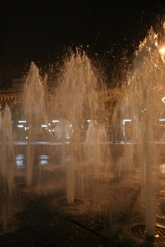Manchester by Night: Piccadilly Gardens