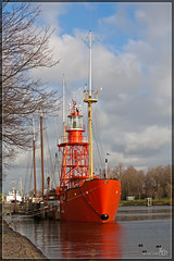 "Lightship ""Noord Hinder"" (BraCom (Bram)) Tags: haven museum port harbor historical hellevoetsluis lightship historisch lichtschip noordhinder bracom"