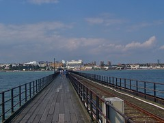 uk greatbritain england building coast seaside day cloudy... (Photo: SaffyH on Flickr)