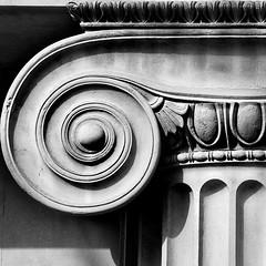 ionic, 2 (lesbru) Tags: blackandwhite london stone architecture capital column britishmuseum d300 coveredcourt ionicorder