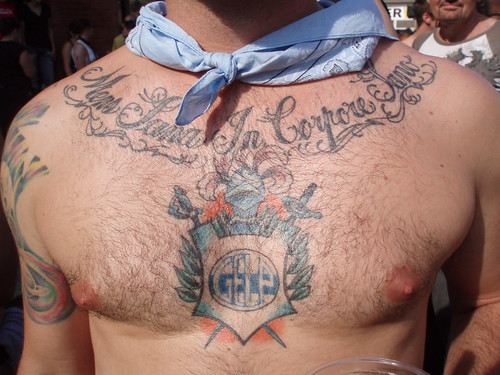 FOLSOM STREET FAIR 2009 - SEXY FUN ! HEY SEXY SAILOR tats