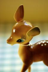Vintage Plastic Bambi (bunbunlife) Tags: vintage disney plastic figure bambi